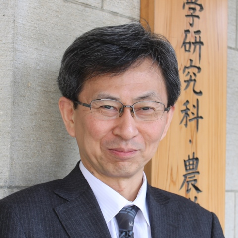 Takeshi Tange, Ph.D Dean of the Graduate School of Agricultural and Life Sciences and the Faculty of Agriculture